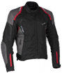 Obrázek z LUCAS red - pánská textilní moto bunda