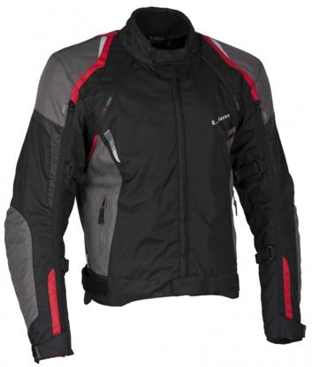Obrázek LUCAS red - pánská textilní moto bunda