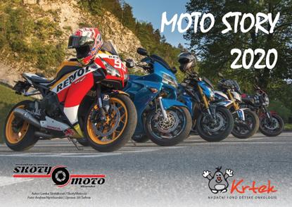 Obrázek Moto kalendář 2020