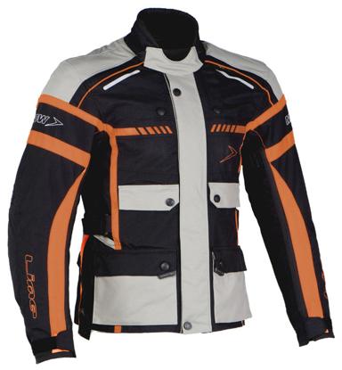Obrázek MBW CHALLENGER JACKET- pánská třívrstvá textilní bunda